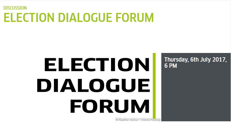 ELECTIONS DIALOGUE FORUM