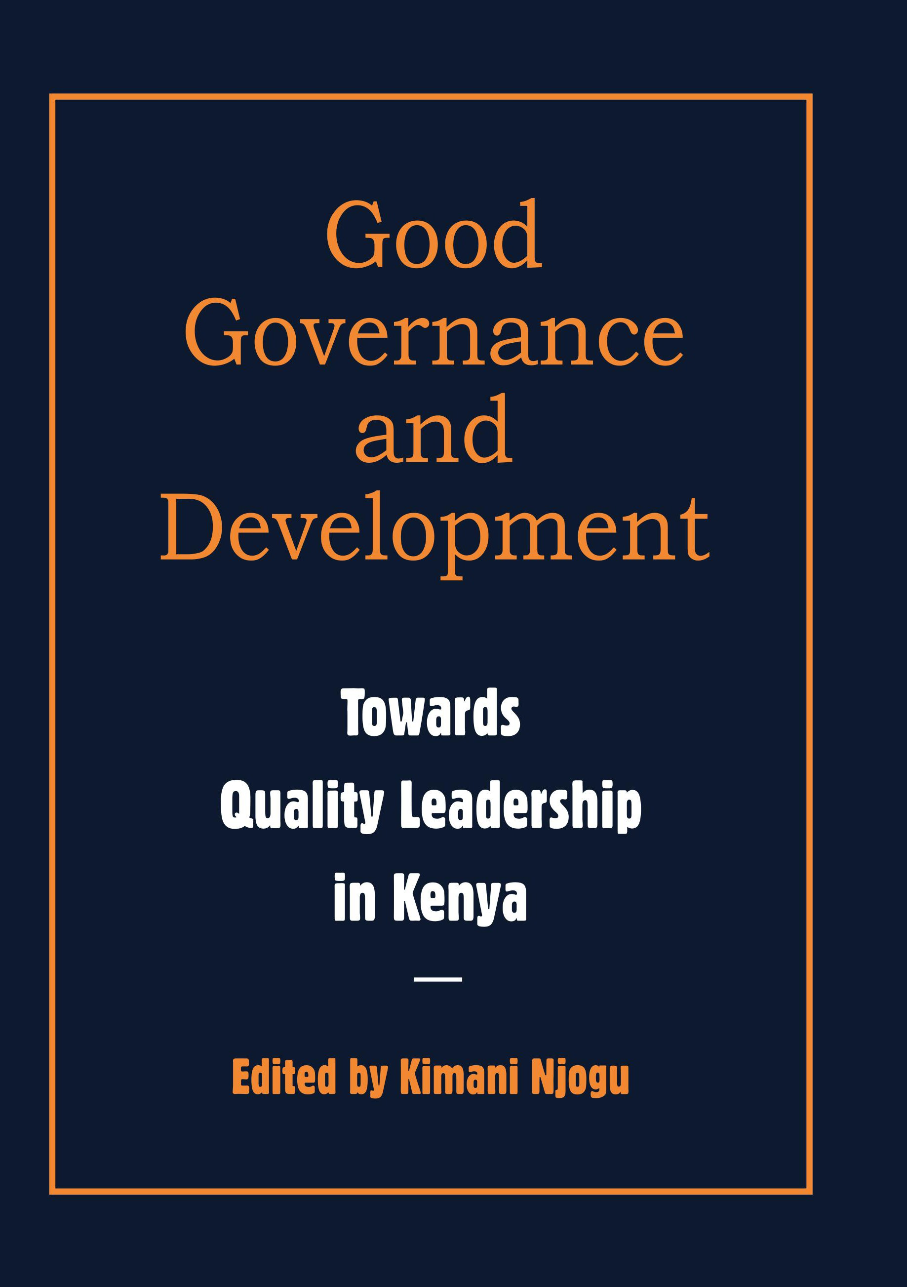 Leadership Governance and Leadership