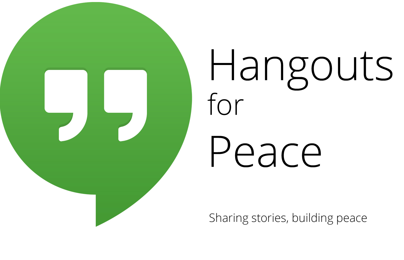 Hangouts for Peace