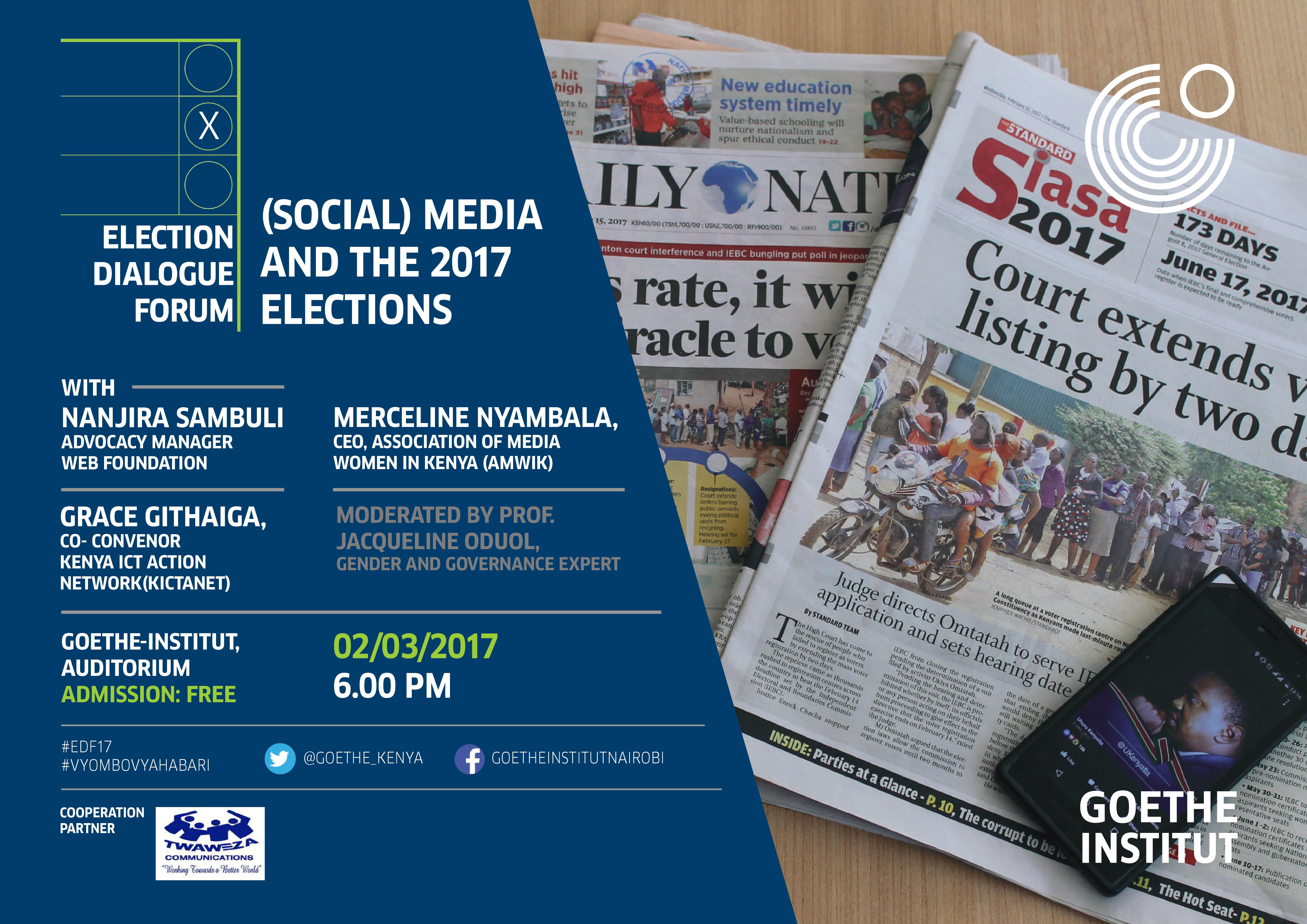 Social Media and the General Elections